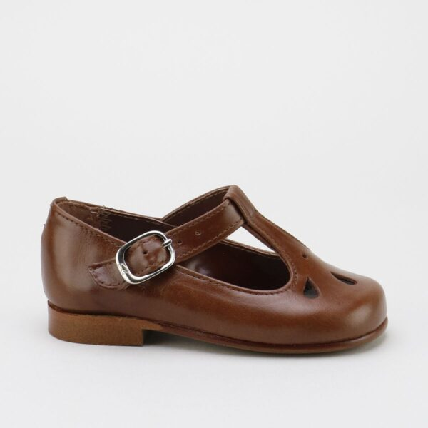 Madison T-Strap Brown